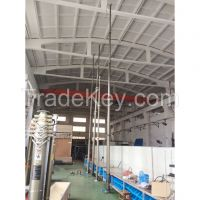 CCTV pneumatic telescopic