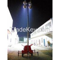 mobile generator set lights towers