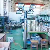 remote control pan tilt lighting tower system