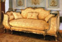 French Gold Sofa