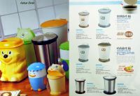 Stainless steel, Plastic dustbin / Garbage bin/Waste bin/Trash can