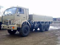 KAMAZ-43118, 6x6, 260 h.p., Euro-2, drop-side cargo body truck