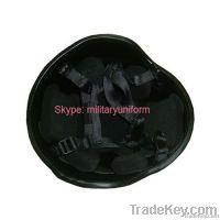 NIJ IIIA Bulletproof Helmet with aramid resisting 9mm .44mag