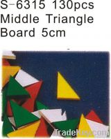 Middle triangle board