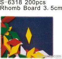3.5CM 200PCS  Rhomb board