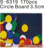 3.5Cm 170PCS  Circle board