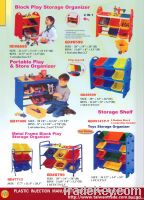 Block Play Storage Organizer