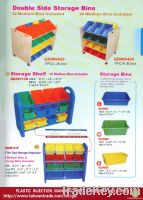 Double Side Storage Bins