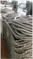 braided stainless steel mesh jacket overbraided flexible conduit