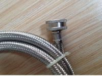 washing machine drain hose connector