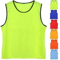 High Quality Custom Logo Training Mesh Bibs Sport Training Vest For Soccer Basketball And More