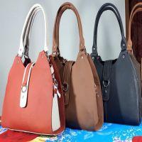 ladies Genuine Leather hand bag