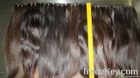 virgin Remy human hair weft without any chemical process