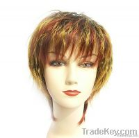 Fashion ladies' synthetic wigs