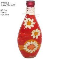 Glass Culinary Art Bottles