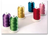 120D/2(40WT) Polyester embroidery thread, 5000m/king spool