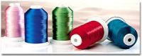 120D/2 Rayon embroidery thread, 5000m/king spool