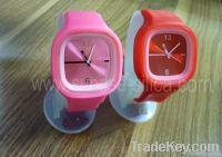 silicon fashion watch