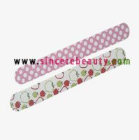 nail file, nail buffer, emery board, foot file