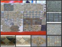 Stone slate mosaic