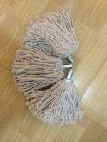 round mop head, plastic/metal binder mop head