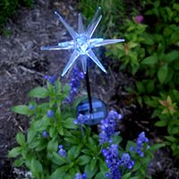 solar garden light- star strip