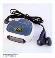 Radio Pedometer, Step Counter