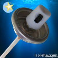 paint aerosol valve and actuator