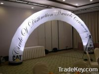 inflatable entrance archdoor for advertising