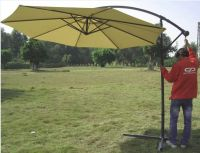 Garden hanging patio umbrella