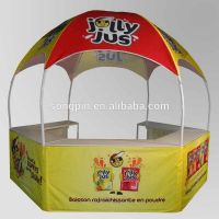 2015 New fashion exhibition advertising pop up tent promotion dome tent