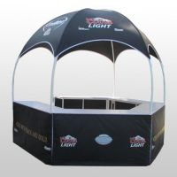 domed promotion tent / outdoor display booth / retail kiosk for sale food