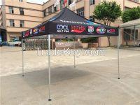 Customize trade show gazebo/ aluminum white canopy/ 3x3m pop up tent