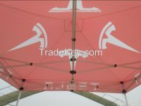 2015 new design canopies for outdoor advertising, 10x10 aluminum gazebo tent , fireproof polyester folding tent