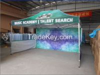 3x4.5m/ 10x20ft large collapsible folding tent with full color printing