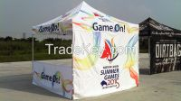 custom design folding exhibition trade show canopies and tents