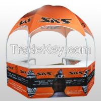 collapsible steel frame brand new dome style tents
