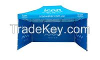 10x20ft polyester aluminum frame collapsible marquee canopy tent