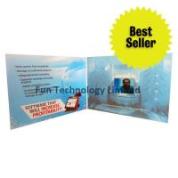 2.4 inch Video Greeting Card LCD Advertising Brochure Player VGC-024