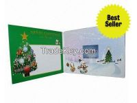 2.4-inch Video Business Invitation Card LCD Brochure with Multi-button