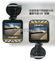 Car Recorder DVR 2.0 inch 4:3 TFT LCD display 1080P Full HD NTK96220 OV9712