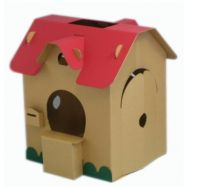 paper house, paper Childrens Toys  house , corrugated house