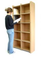 paper furniture, paper Bookshelf, corrugated Bookshelf