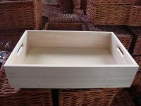 Wooden box for gift collecting