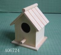 wooden birdhouse, plywood birdhouse