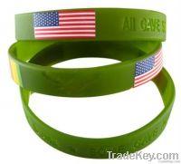 silicone band, wrist band, rubber bracelet band