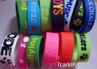 Silicone Bracelets ( Wristbands )