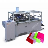 Paper Bag Folding & Gluing Machine