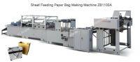 Paper handbag making machine zb1100a