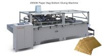 Paper Bag Bottom Gluing Machinery ZB50B